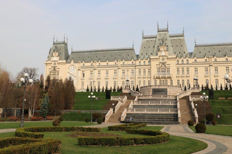 Дворец культуры в Iasi, Румынии стоковые изображения rf