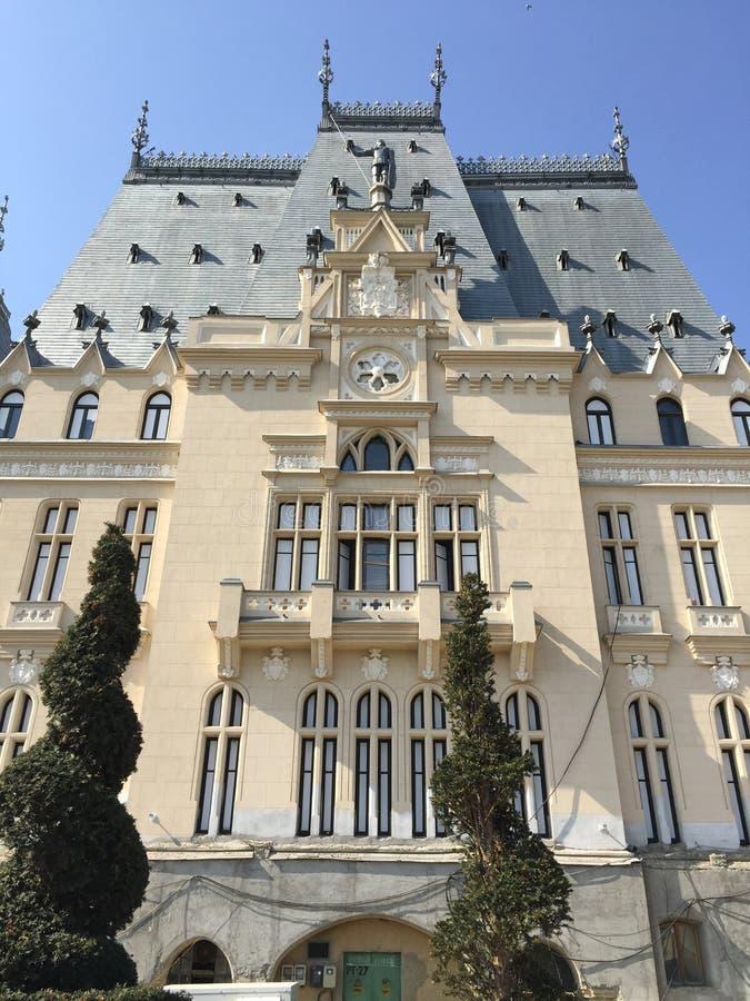 Дворец культуры в Iasi (Румыния) стоковые изображения rf