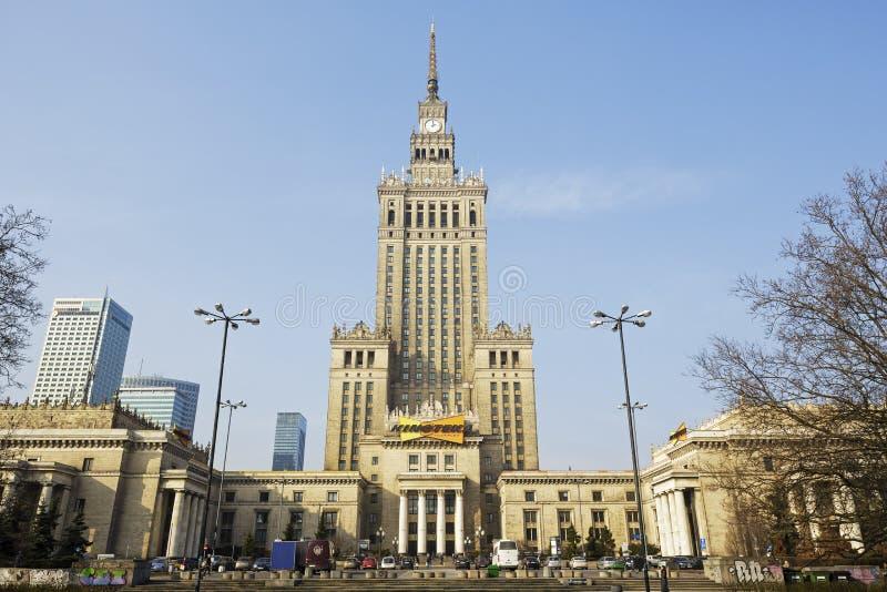 дворец в Варшаве в Польше