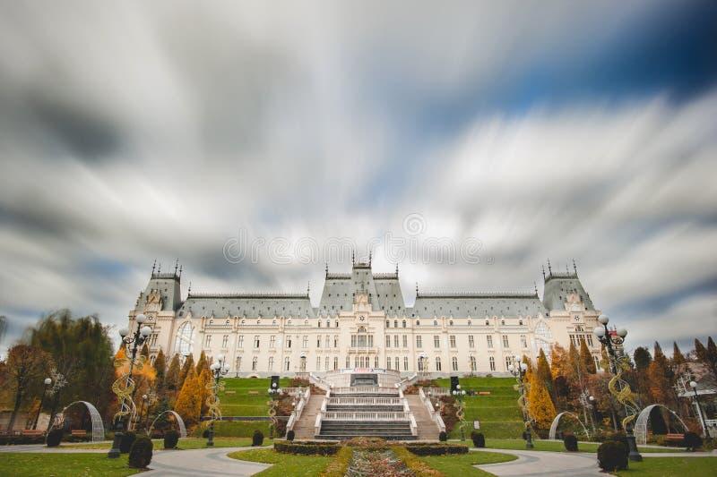 Дворец культуры от Iasi, Румынии стоковое фото rf