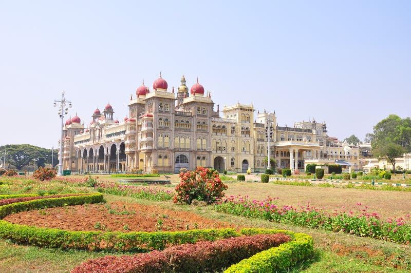 Дворец Майсура в Индии стоковые изображения
