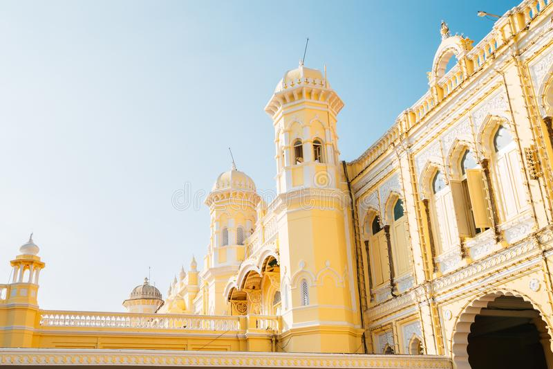 Дворец Майсура в Майсуре, Индии стоковые изображения rf