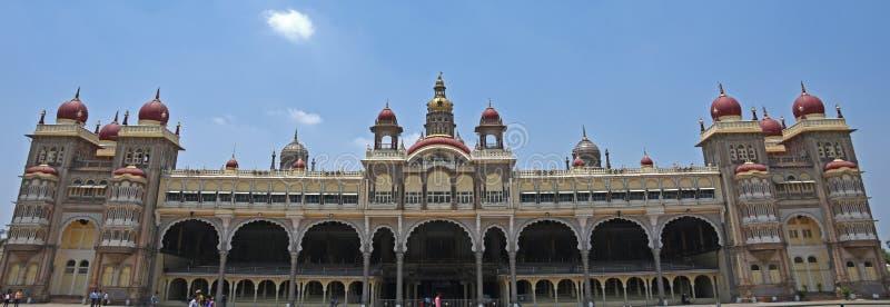 Дворец Майсура, Индия стоковые фотографии rf
