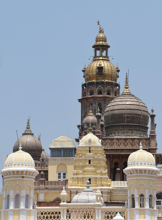 Дворец Майсура, Индия стоковое фото rf