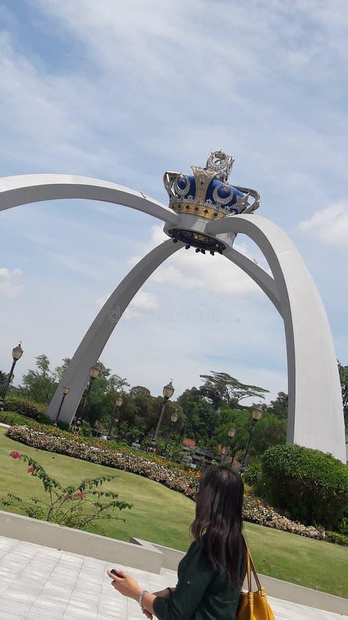 Дворец Малайзии стоковое фото rf