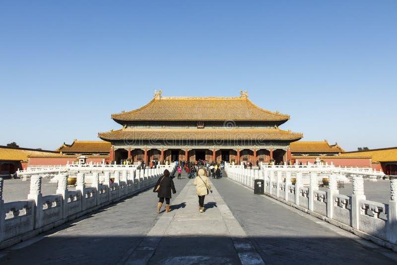 Дворец небесной очищенности стоковая фотография rf
