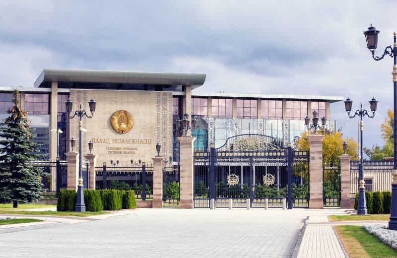 Дворец независимости, Минск, Беларусь стоковая фотография
