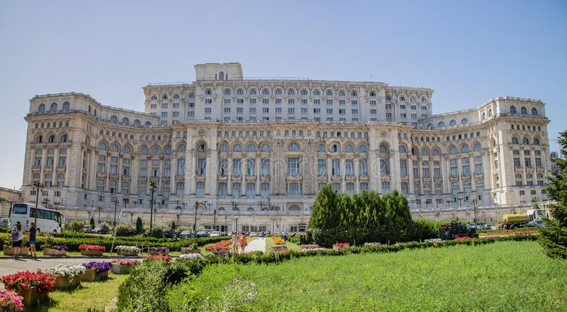 Дворец парламента, Бухарест, Румыния стоковое фото