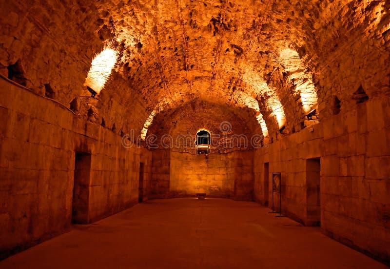 дворец подземный стоковые фотографии rf