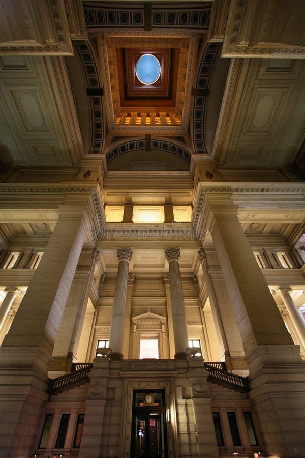 дворец правосудия brussels стоковые изображения