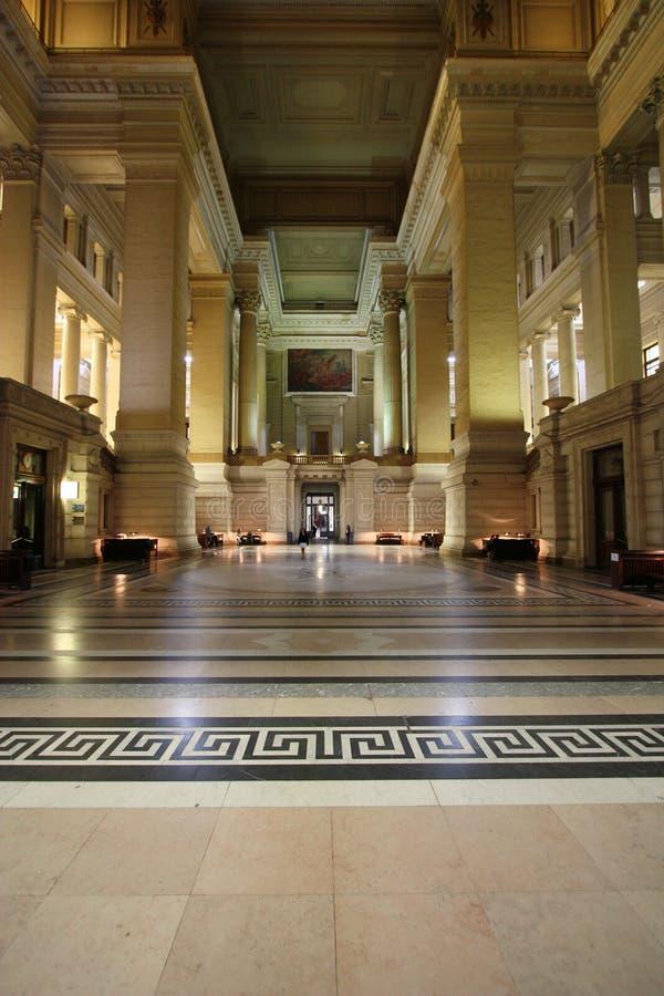 дворец правосудия brussels стоковое изображение rf
