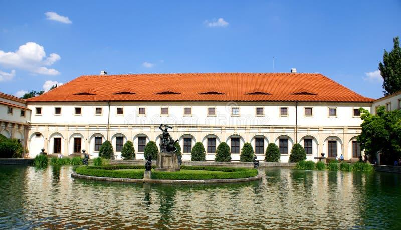 Дворец Прага Wallenstein и его сад стоковые фото