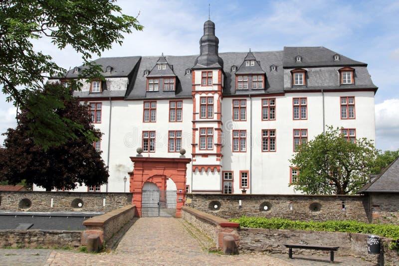 Дворец резиденции в Idstein стоковые фотографии rf