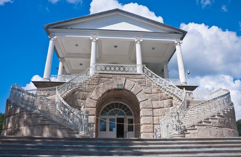 дворец Россия штольни cameron Кэтрины стоковые фотографии rf