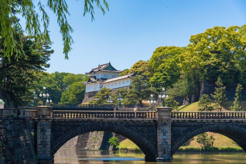 Дворец самого красивого Токио точки зрения имперский, Япония стоковая фотография rf