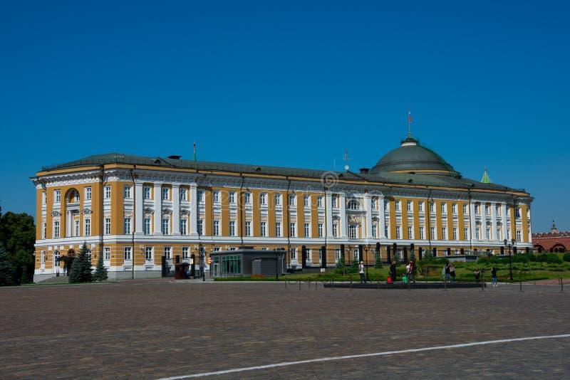 Дворец сената Кремля в Москве Кремле стоковая фотография