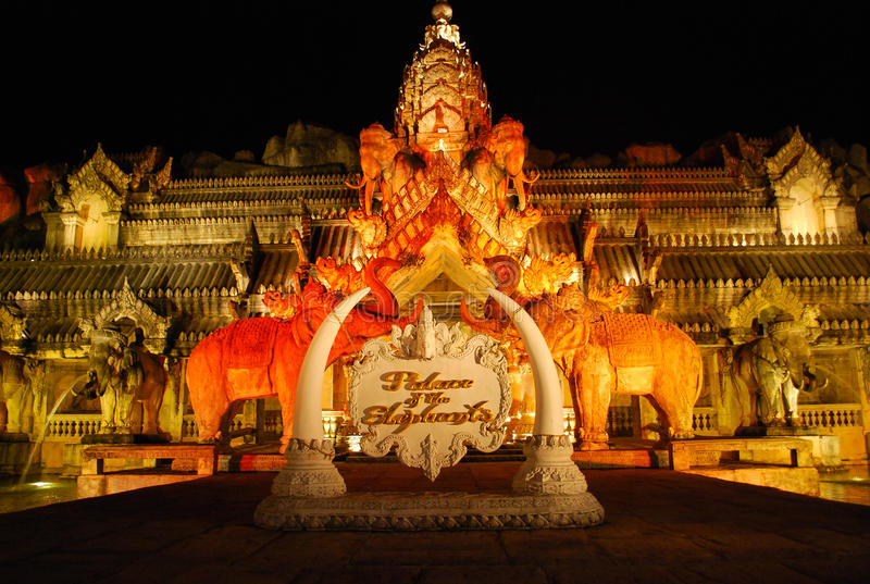дворец слонов стоковое фото rf