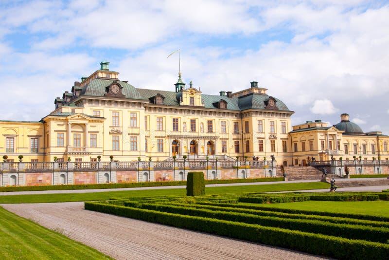 Дворец Стокгольма Drottningholm стоковое изображение