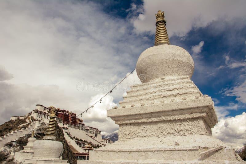 Дворец Тибета Potala стоковое фото