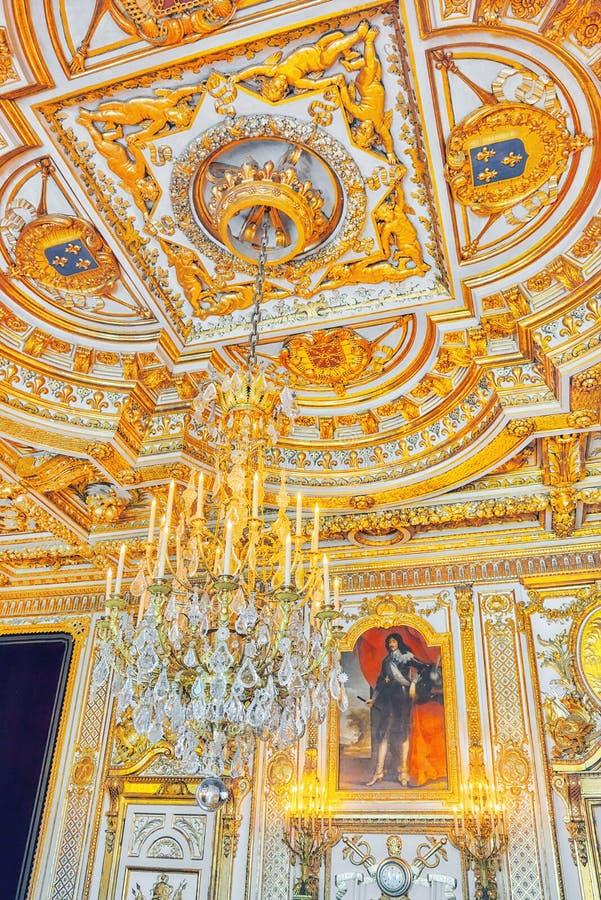 Дворец Фонтенбло стоковая фотография