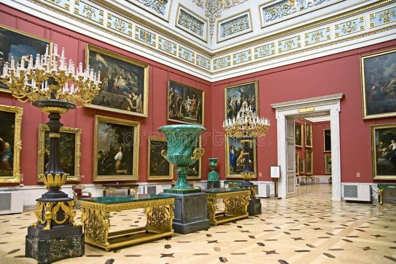 дворец 8 интерьеров стоковые фотографии rf