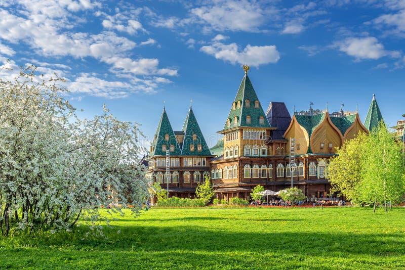 Дворец Alexei Mikhailovich стоковое изображение rf