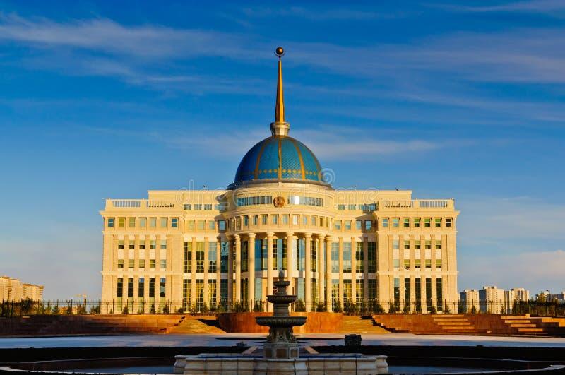 дворец astana президентский стоковые изображения