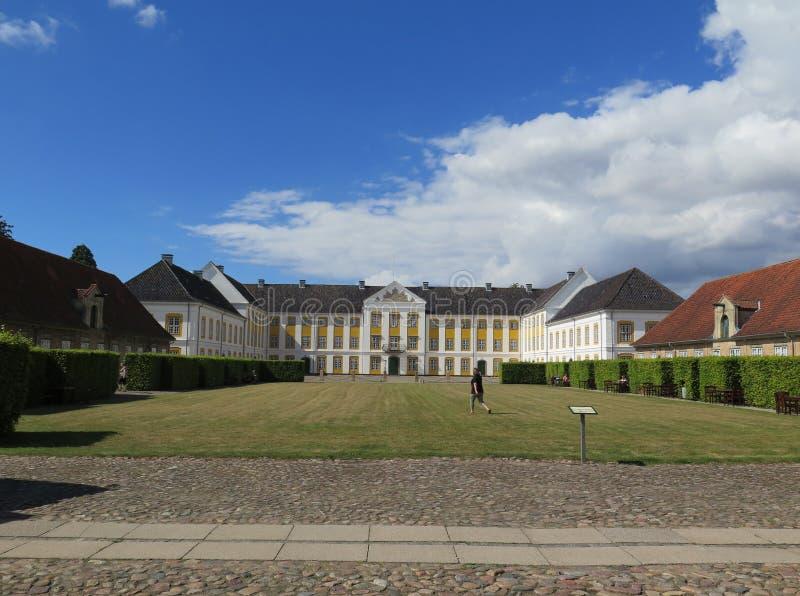Дворец Augustenborg королевский стоковое изображение