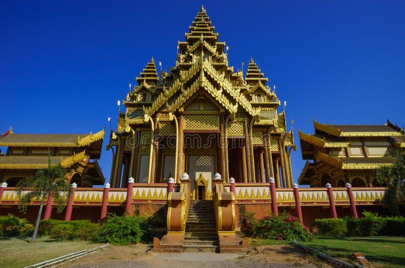 Дворец Bagan, Bagan, Мандалай, Мьянма стоковое фото