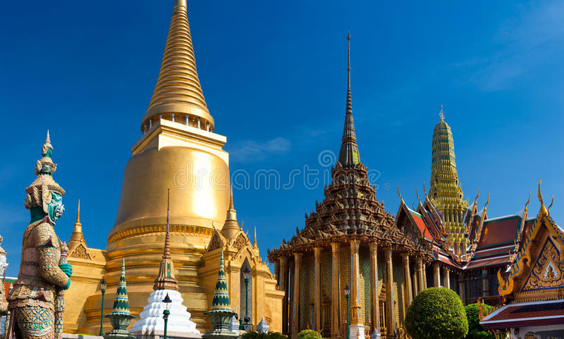 дворец bangkok грандиозный стоковая фотография