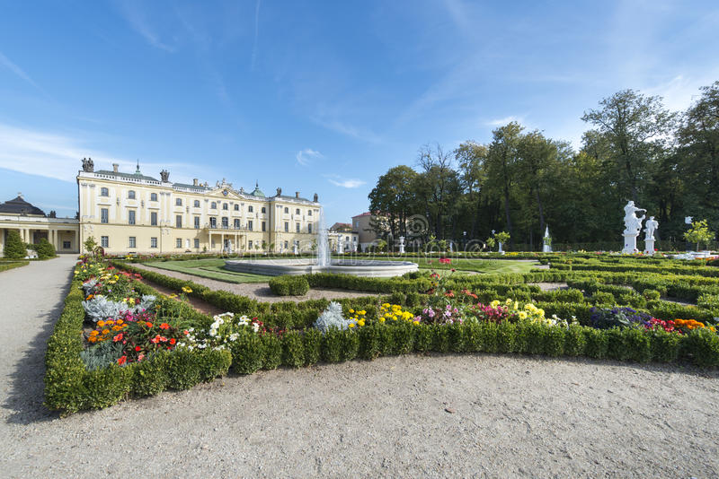 Дворец Branicki в Bialystok, Польше стоковые изображения rf