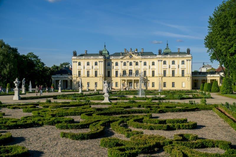 Дворец Branicki в Bialystok стоковое фото rf