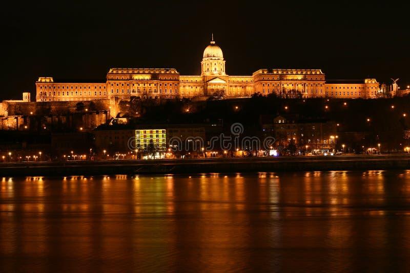 дворец budapest королевский стоковое изображение rf