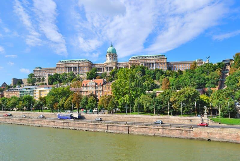 дворец budapest королевский стоковое изображение