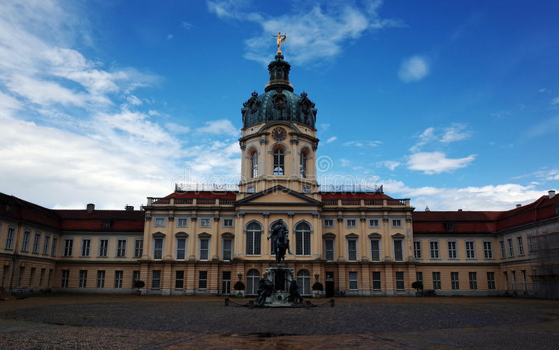 Дворец Charlottenburg, Берлин стоковые изображения