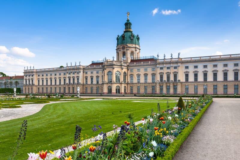 Дворец Charlottenburg в Берлине, Германии стоковые фотографии rf