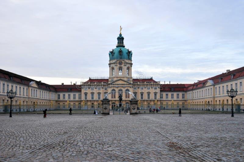 Дворец Charlottenburg в Берлине, Германии стоковая фотография