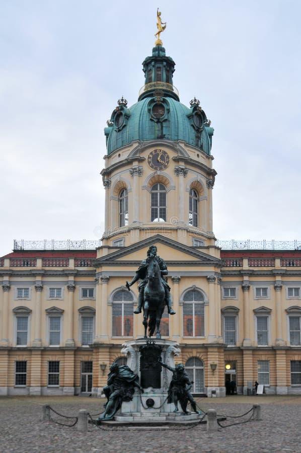 Дворец Charlottenburg в Берлине, Германии стоковое изображение