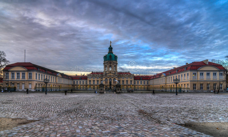 Дворец Charlottenburg стоковое фото rf