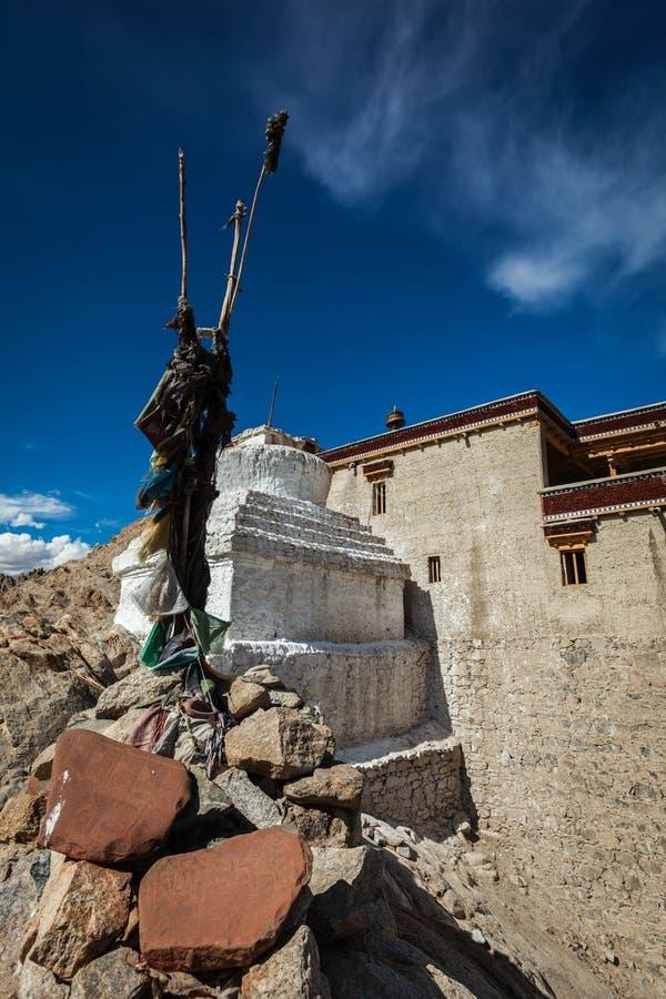 Download Дворец Chorten и Shey. Ladakh, Индия Стоковое Изображение - изображение насчитывающей вероисповедание, тибетец: 33738093