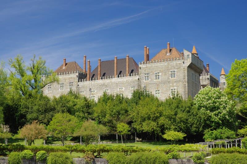 Дворец Duques de Braganca, Guimaraes, Португалии стоковая фотография