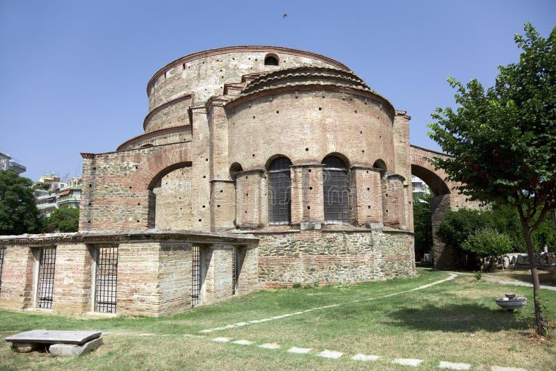 дворец galerius стоковое изображение