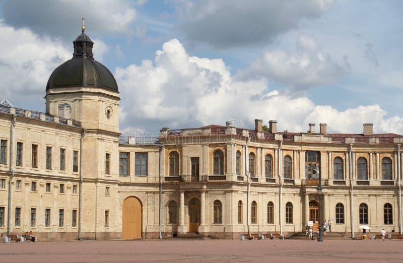 дворец gatchina стоковое фото
