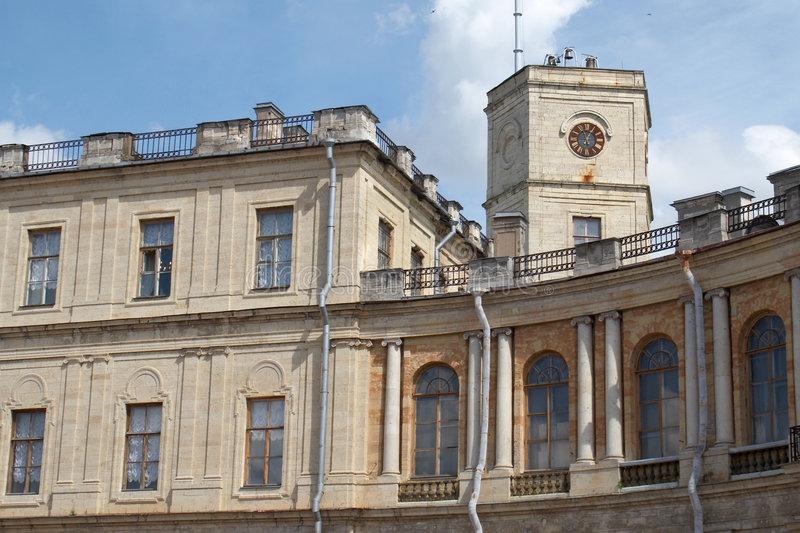 дворец gatchina стоковые изображения