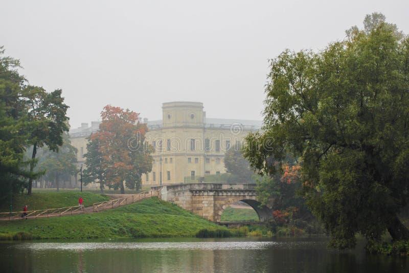 Дворец Gatchina стоковая фотография