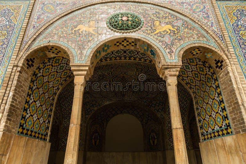 Дворец Golestan, Тегеран, Иран стоковая фотография