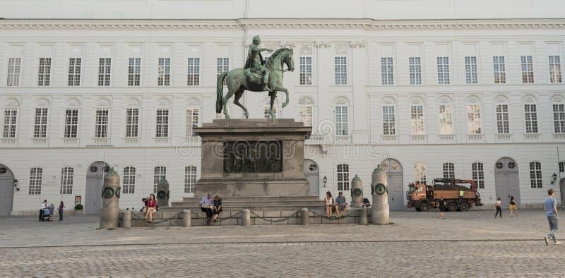 Дворец Hofburg - вена стоковые изображения