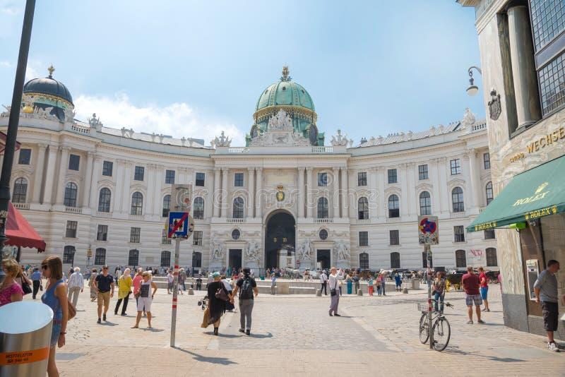Дворец Hofburg - вена стоковое фото rf