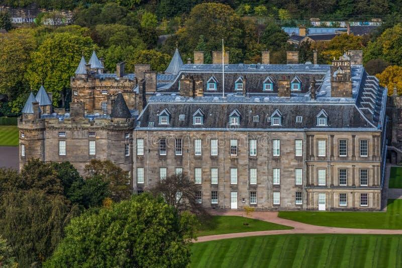Дворец Holyrood стоковые изображения rf