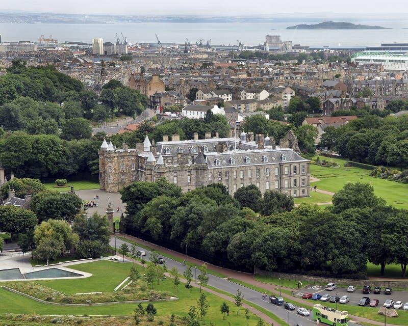 Дворец Holyrood стоковая фотография